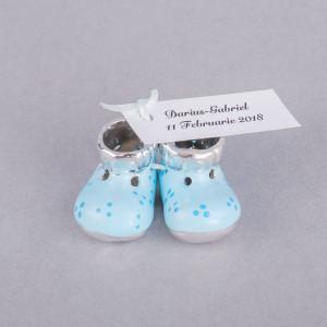 Marturii botez botosei ceramica bleu