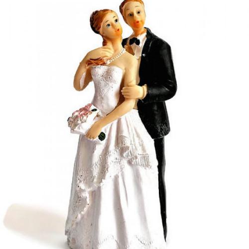 Figurina tort nunta cu mirii