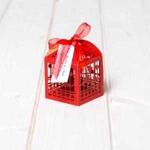 Marturii nunta cutiute vrabii si inimi rosii