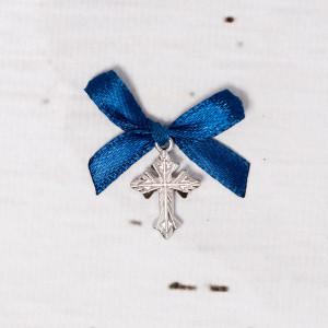 Cruciulite botez biserica cu fundita bleumarin