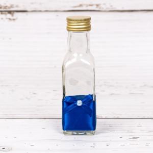 Sticluta de mir cu decor albastru