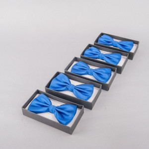 Set 5 papioane albastre pentru cavaleri onoare