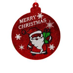 Glob cu sclipici Merry Chrismas